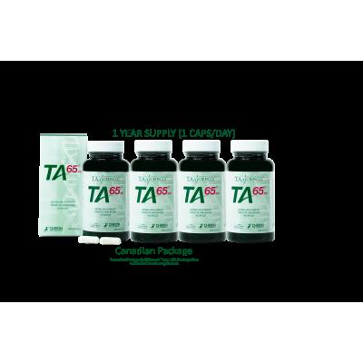 TA-65® 250 Units 90 Capsules - 1 Year Supply